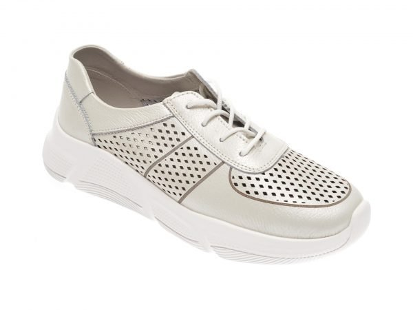 Pantofi IMAGE albi