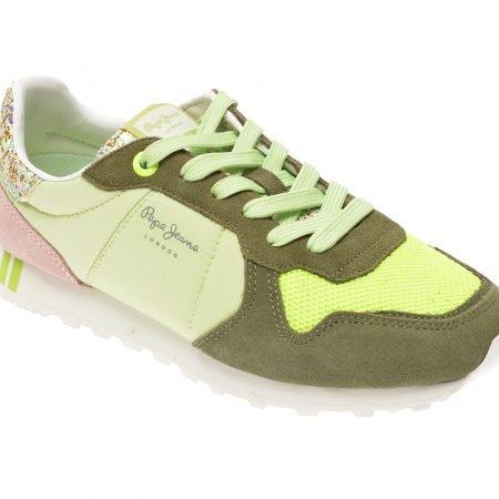 Pantofi PEPE JEANS verzi