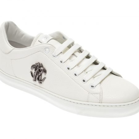 Pantofi ROBERTO CAVALLI albi