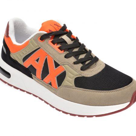 Pantofi sport ARMANI EXCHANGE kaki
