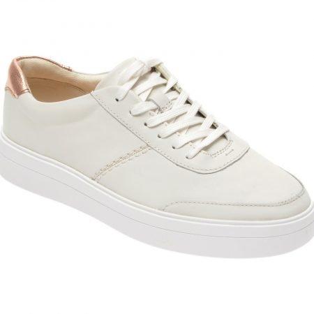 Pantofi sport CLARKS albi