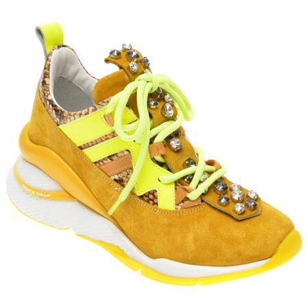 Pantofi sport EPICA galbeni