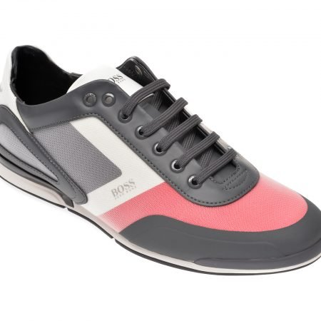 Pantofi sport HUGO BOSS gri