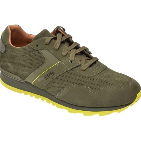 Pantofi sport HUGO BOSS kaki