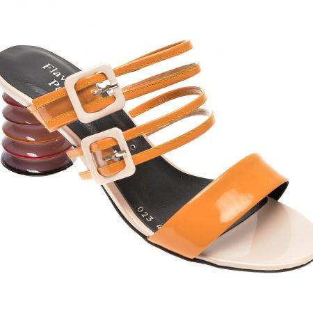 Papuci FLAVIA PASSINI galbeni