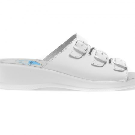 Papuci medicinali PLANTARES albi