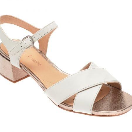 Sandale CLARKS albe
